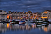 Jean Framed Prints - Saint Jean De Luz Framed Print by Karim SAARI