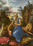 Famous Artists - Saint Jerome by Albrecht Duerer