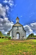 Saint Joseph Photo Prints - Saint Joesephs Church Maui  Hawaii Print by Puget  Exposure