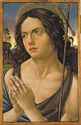 Famous Artists - Saint John the Baptist by Raffaellino del Garbo