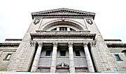 Saint Joseph Photo Prints - Saint Joseph du Mont Royal Facade Print by Valentino Visentini