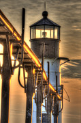 Saint Joseph Prints - Saint Joseph Lighthouse in HDR Print by Twenty Two North Photography