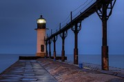Saint Joseph Prints - Saint Joseph Lighthouse Print by Twenty Two North Photography