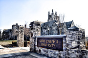 Saint Metal Prints - Saint Josephs University Metal Print by Bill Cannon