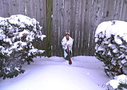 Kate Gallagher - Saint Jude Barefoot in the Snow