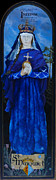 St Margaret Paintings - Saint Margaret of Scotland by Lesly Holliday