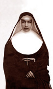Francis Digital Art Posters - Saint Marianne of Molokai Poster by James Temple