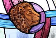 Gilroy Stained Glass - Saint Mark Lion