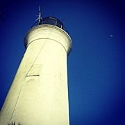 Lighthouse Photos - Saint Marks Lighthouse Looking Up by Lynn Palmer