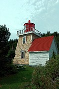 Boaters Photo Prints - Saint Martins Lighthouse 2 Print by Kathleen Struckle