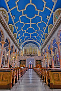 Clergy Photo Metal Prints - Saint Michaels Church Metal Print by Susan Candelario