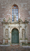 Door Sculpture Photos - Saint Peters Doorway by Antony McAulay