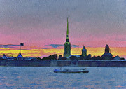 Saint Petersburg Prints - Saint Petersburg 10 Print by Yury Malkov