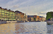 Saint Petersburg Prints - Saint Petersburg 9 Print by Yury Malkov