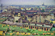Saint Petersburg Prints - Saint Petersburg Roofs1 Print by Yury Malkov