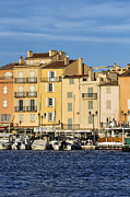 Southern France Framed Prints - Saint-Tropez  Framed Print by John Greim