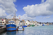 Cumulus Prints - Saint Vaast La Hougue Normandy France Print by Colin and Linda McKie