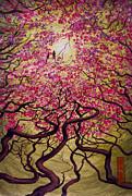 Sakura Print by Vrindavan Das