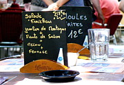 Moules Posters - Salade et Jambon Poster by France  Art