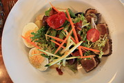 Lettuce Photo Originals - Salade Nicoise by Gerry Bates