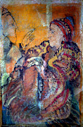 Bible Pastels Metal Prints - SALADIN  Who Has The Truth Among The Peoples of The Book  ? f  Metal Print by Josie Taglienti