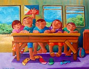 Naive Paintings - Salat Ngunit Sapat by Paul Hilario