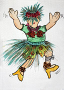 Terri Waters Prints - Sales Fairy Dancer 2 Print by Terri  Waters