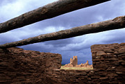 Ancestors Prints - Salinas Pueblo Mission Abo Ruins 5 Print by Bob Christopher
