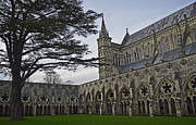 Steven Brennan Prints - Salisbury Cathedral  Print by Steven Brennan