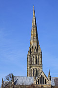 Salisbury Framed Prints - Salisbury Cathedral Wiltshire Framed Print by Robert Preston