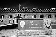 Fort Jefferson Metal Prints - Sally Port Entrance To Fort Jefferson Dry Tortugas National Park Florida Keys Usa Metal Print by Joe Fox