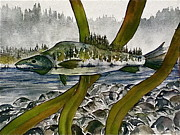 Carolyn Doe - Salmon Landscape