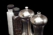 All - Salt And Pepper Mills Painting  by Andee Photography