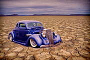 Graffitti Coupe Prints - Salt Flat 36 Print by Steve McKinzie