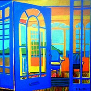 French Doors Originals - Salt Island Sunporch Gloucester by Debra Bretton Robinson