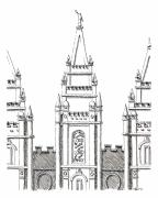 Aaron Bodtcher - Salt Lake Temple