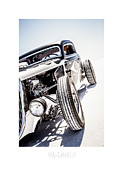 Dry Lake Photo Metal Prints - Salt Metal Metal Print by Holly Martin