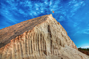 Praia De Faro Prints - Salt Mountain Print by Nigel Hamer