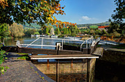 River Avon Prints - Saltford Locks  Print by Rob Hawkins