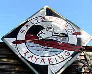 Cheryl Hoyle - Saltspring Kayaking Sign