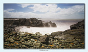 Canon 7d Digital Art Framed Prints - Saltwater on the rocks 01 Framed Print by Kevin Chippindall