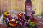 Suzanne Willis Metal Prints - Salud Metal Print by Suzanne Willis