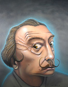 Salvador Mixed Media - Salvador Dali by Chris Bradley