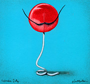 Candy Painting Posters - Salvadore Lolly... Poster by Will Bullas