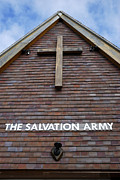 The Wooden Cross Photo Prints - Salvation Print by Doug Wilton