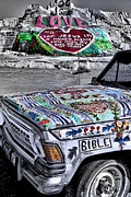 Salvation Mountain Posters - Salvation Mountain Poster by Jason Abando