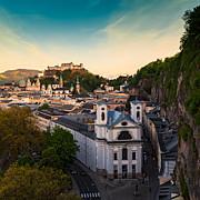 Salzburg 06 Print by Tom Uhlenberg