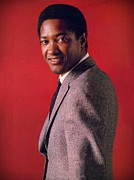 Pop Singer Framed Prints - Sam Cooke Framed Print by Movie Poster Prints