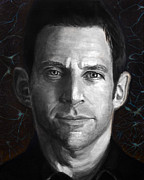 Sam Harris Print by Simon Kregar