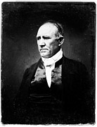 Senator Digital Art - Sam Houston by Digital Reproductions